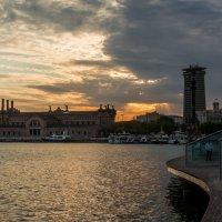 Закат над Барселоной :: Константин Шабалин