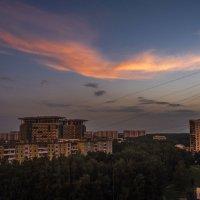 """закат в городе """"огненная птица"""" :: Лариса Батурова"""