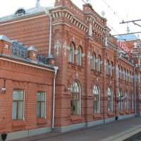 На вокзале в Казани. :: Олег Афанасьевич Сергеев