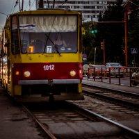 Старинные трамваюшки Барнаула :: Юлия