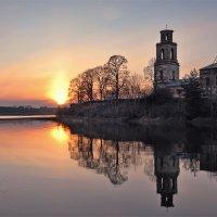 Апрельская закатная :: Николай Белавин
