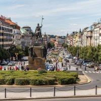 Вацлавская площадь в Праге :: Вадим *