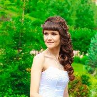 невеста в парке :: Екатерина Беникаускене