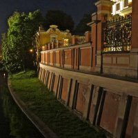 ночь у Монастырской реки :: Елена