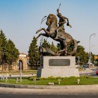 Болгария. Поморие. Памятник Св. Георгию. :: Сергей Николаевич Бушмарин