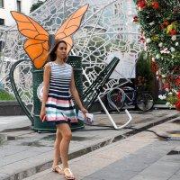 бабочки летят на цветы :: Александр Шурпаков