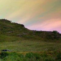Северное сияние на востоке Казахстана. :: Мила Бовкун