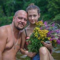 Алена с папой. :: Сергей Исаенко