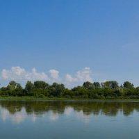 река Бия чуть выше города Бийска :: Николай Мальцев