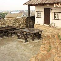 """это тоже одна из зон летних кафе возле """"Старой Мельницы"""" в Соль-Илецке. :: Александр Иванов"""