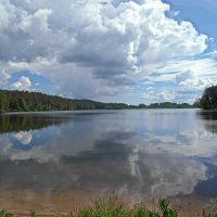 Жаркий полдень на Петровском озере :: Елена Гуляева (mashagulena)