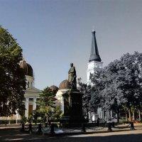 граф Воронцов на Соборной площади :: Александр Корчемный