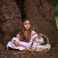 Оленюшка из рода Пятнистых Оленей :: Анна Кондрух