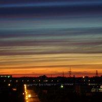 Закатное небо :: Елена Перевозникова