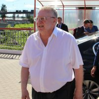Лидер ЛДПР В.В. Жириновский в Орле. :: Борис Митрохин