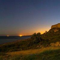 Ночной берег Чёрного моря :: Игорь Сарапулов