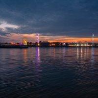 Вечерняя прогулка вдоль Рейна на закате :: Witalij Loewin