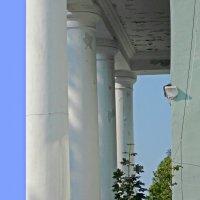 Украшения послевоенных домов. Колонны ДК. :: Фотогруппа Весна.