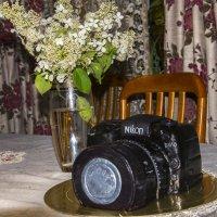 Лучший подарок фотографу - фото-торт:) :: Виктор М