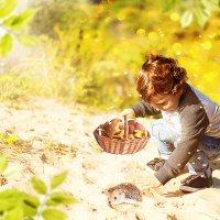 Малыш и ёжик :: Malka Morgan