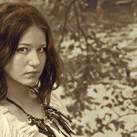 второй вариант портрета :: Алиса Колмагорова