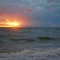 Закат на море :: Teresa Valaine