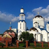 Храм во имя Собора всех Московских святых :: Николай Дони