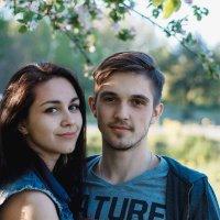 Вера и Саша. :: Елизавета Андреева