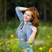 Солнечным вечером :: Виктория Харламова