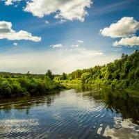 Река Шешупе :: Игорь Вишняков