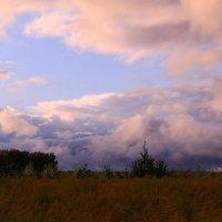 Небесные краски августа :: Татьяна Ломтева