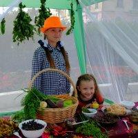 Палатка с забайкальскими дарами. Дети тоже дары Забайкалья-) :: Елена Фалилеева-Диомидова