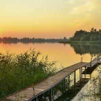вечер на реке :: Наталья Рыжкова