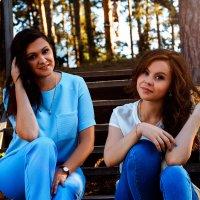 две сестренки :: Елена Бологова