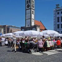 День мира в Аугсбурге - праздник 8 Августа 2016 :: Galina Dzubina