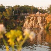 Очевидное-невероятное: водопад на Днепре :: Алекс Аро Аро