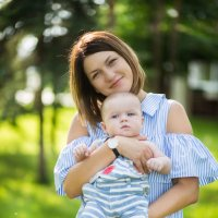 Мама и сын) :: Александра Капылова