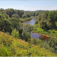 Вид на долину реки Лучеса. :: Роланд Дубровский