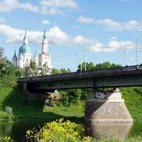 Кингисепп. Вид на Екатерининский собор, арх. А. Ринальди, 1764-82 г.г. :: Елена Павлова (Смолова)