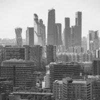 вид на Москва-сити с севера примерно в 11:30 :: Максим Должанский
