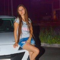 Ночная прогулка на авто 2 :: Мария