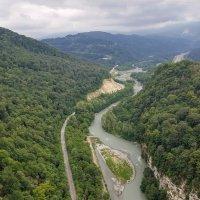 Вид на реку Мзымта :: Ирина