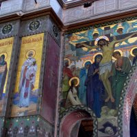 Фрески, росписи Новоафонского монастыря. :: Валерия  Полещикова