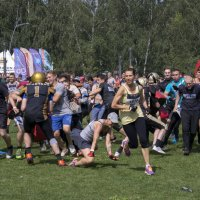 Международная гонка на выживание Tough Viking 2016 в Кузьминках. :: Жанна Кедрова