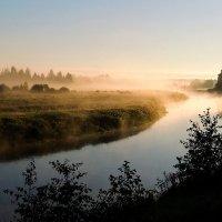 Розовый рассвет, розовый туман :: Павлова Татьяна Павлова