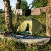 байдарка,палатка :: ВИКТОР