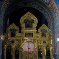Врата внутри  Храма Новоафонского монастыря. :: Валерия  Полещикова