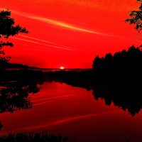 Алая зоря :: АЛЕКСАНДР СУВОРОВ