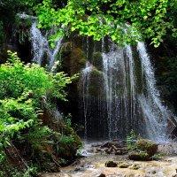 """Водопад """"Серебряные  струи"""" :: Гриша  6х9 или 9х12"""