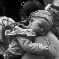 На плече у мамы :: Николай Велицкий
